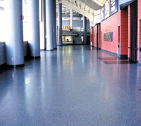 Rubberized Floors